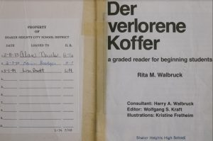Lisa Pruett's name in a German textbook brings back her memories.