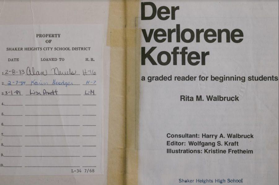 Lisa+Pruett%27s+name+in+a+German+textbook+brings+back+her+memories.+
