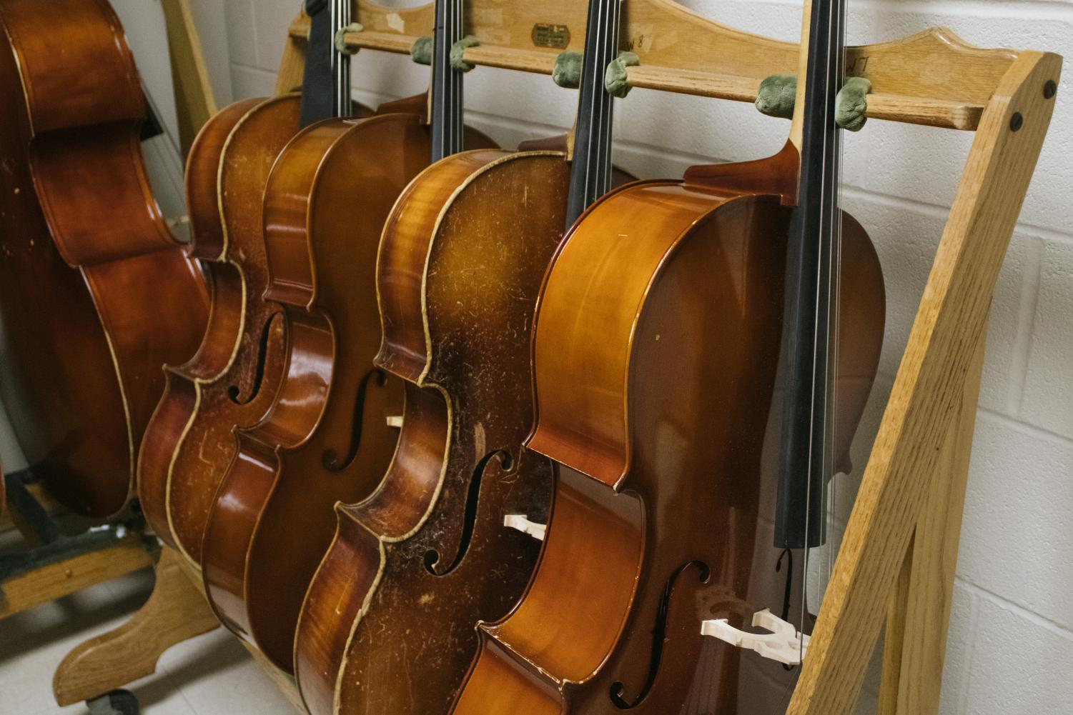 A licensed music instructor is covering Woodbury orchestra classes.