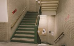 Students Steadily Ignore Directional Staircases