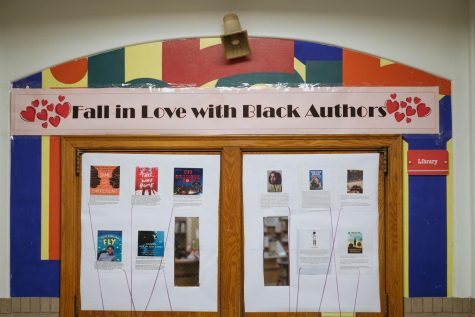 Classroom doors were decorated throughout Black History Month to celebrate black excellence and pride.  -Moira Grace McGuan