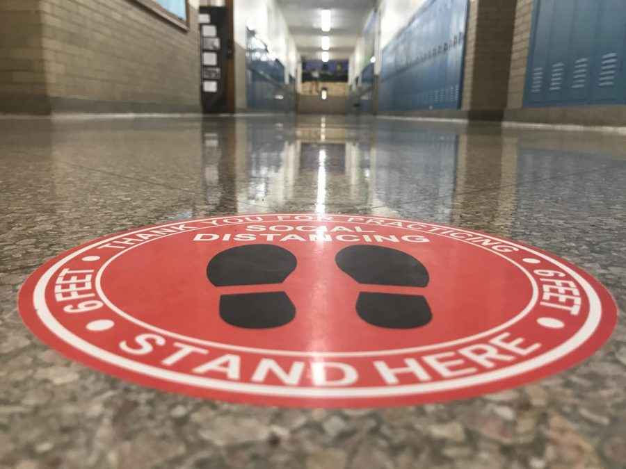 The pandemic has delayed and refashioned traditional 9th-grade orientation. Freshmen may tour the high school with a guide Jan. 15, the day before hybrid instruction is to begin.