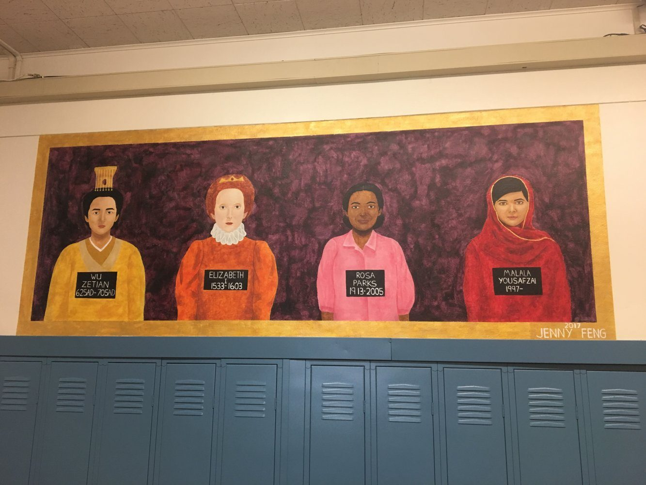 Shaker Artists Leave Their Marks